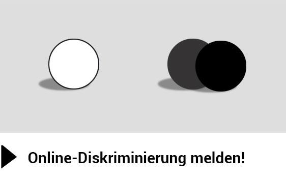 Diskriminierung melden!